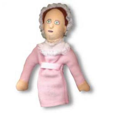 Jane Austen puppet