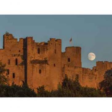 Moon Ludlow Castle