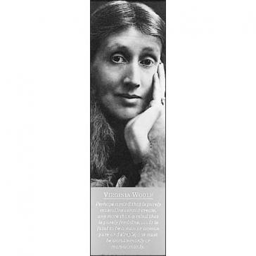 Virginia Woolf bookmark