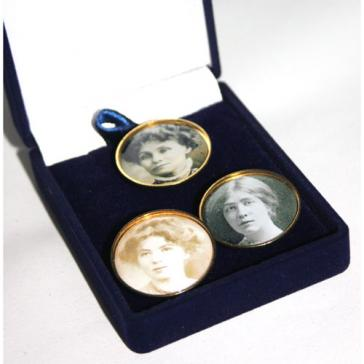 Pankhursts badges