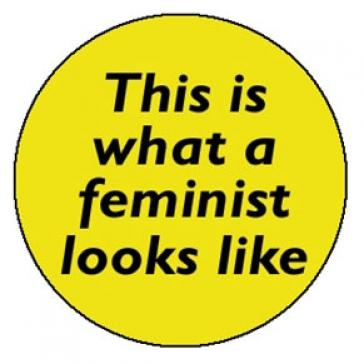 This is what a feminist looks like fridge magnet