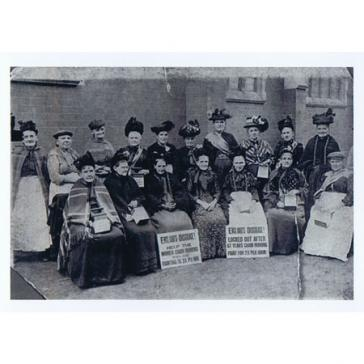 Women Chainmakers on strike