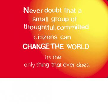 Change the world