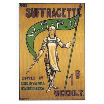 Suffragette warrior
