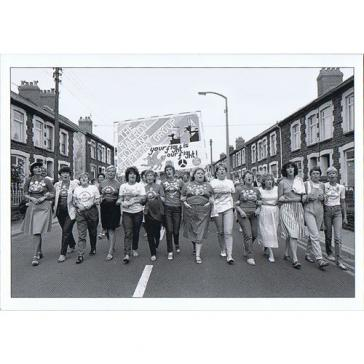 Maerdy women marching