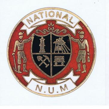 National NUM badge