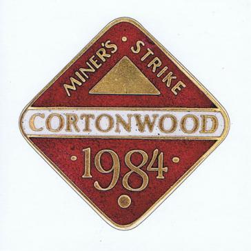 Cortonwood badge card