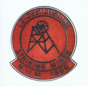 Leicestershire Striking Miner