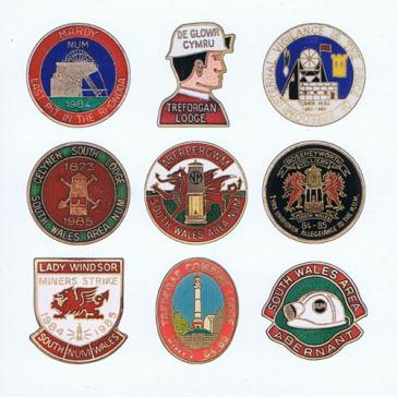 South Wales badges card