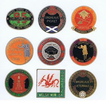 Orgreave badges card