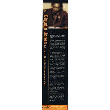 Claudia Jones bookmark
