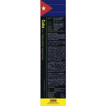 Cuba bookmark