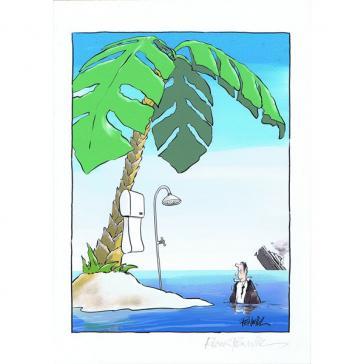 Roger Penwill Desert Island Shower