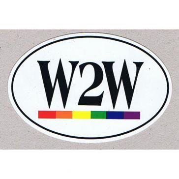 W2W Sticker