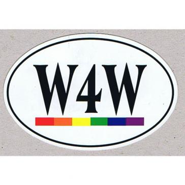 W4W Sticker