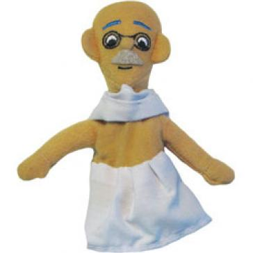 Gandhi puppet