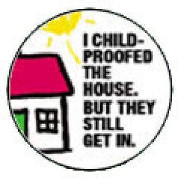 Child Proofed badge