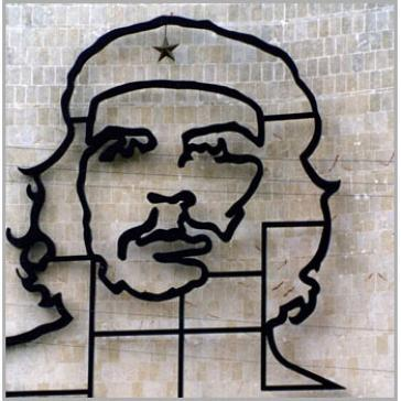 Che on wall
