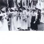 Women's coronation procession