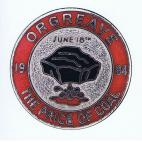 Orgreave badge card